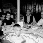 "From left, Lil holding George Lasica, Kathy Lasica, Wojciech ""George"" Lasica, Emil Lasica, Jessica Stagg, Joe Lasica, at our grandparents' house."