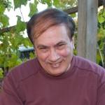 JD Lasica in the back yard, Pleasanton, Calif., Sept. 2010.