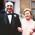 John Bielen and Caroline Jadenski Bielen in July 1985 at their 60th wedding anniversary celebration in Garfield, NJ.