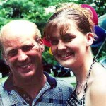 Bill and daughter Jenny Kazmar at their Pine Bush, NY, home in June 2000.