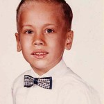 Joe Lasica around first grade at Gilbert Avenue School, East Paterson, NJ.
