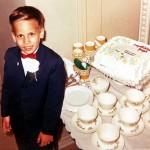 Joe Lasica at his first communion party in 1962.