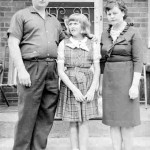 Michael and Maria Bordon in Toronto with their daughter Stella in the mid-1960s, not long after they adopted her.