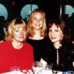 From left, Christine Reid Palmer, Kathleen Palmer, age 15, and Kathleen Reid aboard a Vision of the Seas cruise from Vancouver, Canada, to Ketchikan, Alaska, in July 2000. During the family trip Christine caught a king salmon.