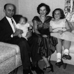 Emil and Lil Lasica with daughter Kathy and infant son Joe in fall 1955.