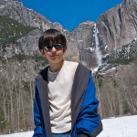 Bobby at Yosemite, April 7, 2010.