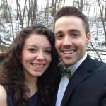 Dan Zimmermann with girlfriend Anna Richter.