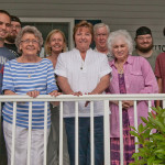 At our family reunion in Lavallette at the Jersey Shore, July 2012. From left, Rick Lasica, Andrew Lasica, Tory Lasica Stagg, Mary Schrader Lasica, Jessica Morgan, Byron Morgan, Kathy Lasica Schiro, Michael Lasica and Bobby Lasica.