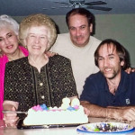 From left, Kathy Schiro, Lil, JD and George Lasica in Phoenix around 2007.