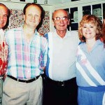 From left, J. Martin Lasica, Walter Wojcik Jr., their uncle Emil Lasica, Walter's wife Lydia and daughter Marisa in July 1995.