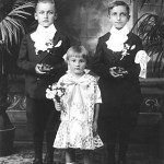 Emil, Sophie (Tory) and John Lasica in a photo taken in 1927.