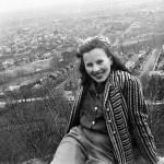 Lillian Lasica at Garrett Mountain, 1940s.
