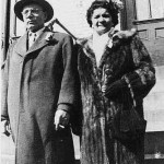 "George Lasica and wife Katherine Delenta Lasica (""Babci"") in the mid-1950s."