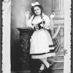 Mary Schepper in a photo taken shortly after her arrival in America in 1912 at age 13.