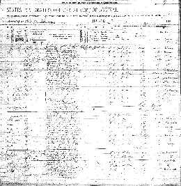 Page 2 of the ship manifest.