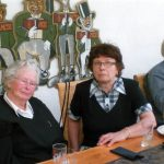 From left, Christa Sporn Richter, Inge Sporn Weinberger and Rudi Weinberger in Germany, April 30, 2010.