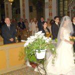 Inside the church at Szymon Sochacki's wedding on Oct. 14, 2006.