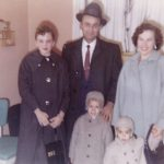 Emil and Lil Lasica with their children Kathy, Joe and George Lasica, around 1959.