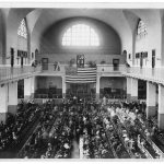 A photo of how Ellis Island looked around the time George (Wojciech) Lasica arrived in 1912.